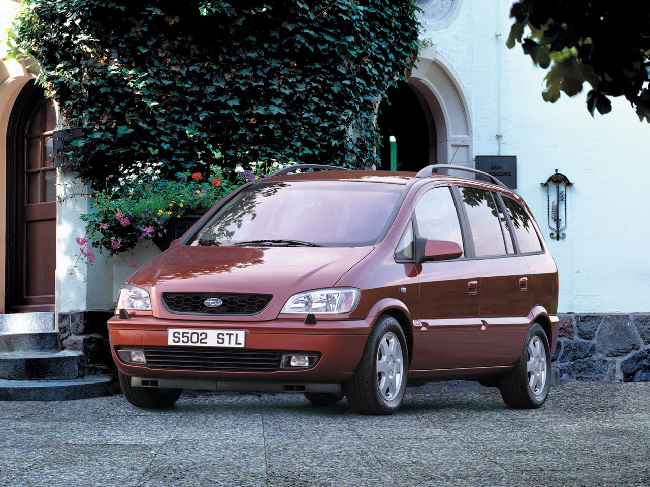 Фото Subaru Traviq